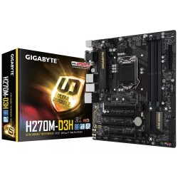 MOTHER GIGABYTE GA-H270M-D3H BOX S1151