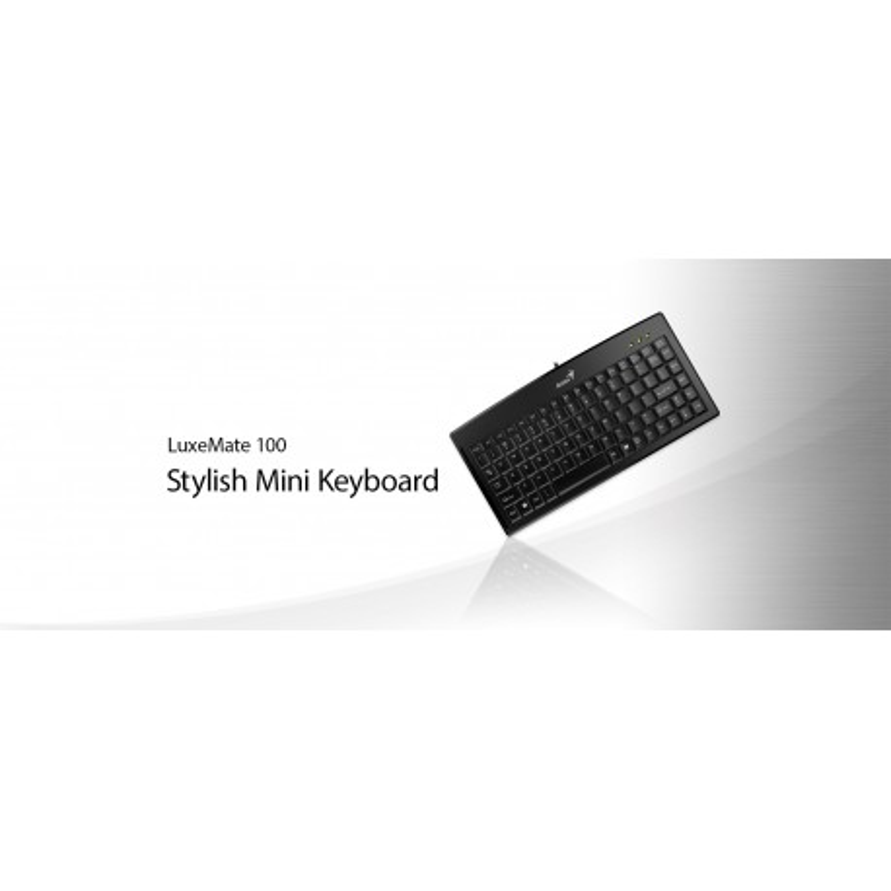 Teclado Genius Luxemate 100 Usb Stylish Mini