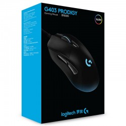 Mouse logitech g403 gamer prodigy RGB light