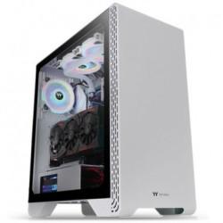 Gabinete Gamer Raidmax alpha a15 negro blanco mid tower RGB
