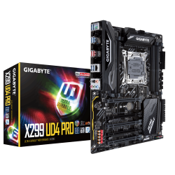 MOTHERBOARD GIGABYTE X299 UD4 PRO BOX S2066