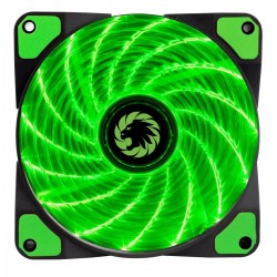 Cooler Gamemax Para Gabinete 120mm Green Gmx-Gf12g
