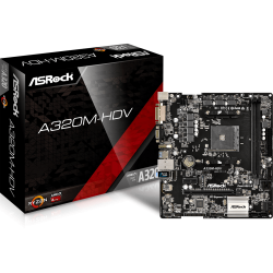 Mother Asrock A320m hdv Socket Am4