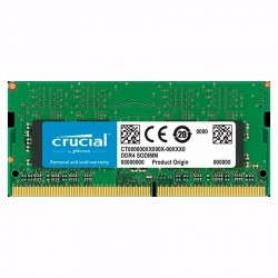Memoria Notebook Crucial Ddr4 4gb 2400 Mhz
