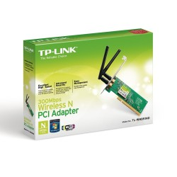 Placa de Red Wireless Pci Tp Link Wn851nd 300m 2 Antenas