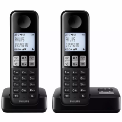 TELÉFONO INALÁMBRICO PHILIPS DUO D2352B