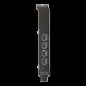 Gabinete Gamer Nzxt Noctis 450 Mate Black Led Red