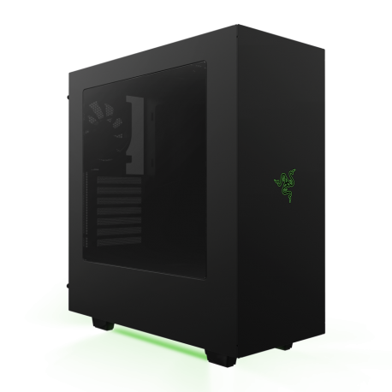 Gabinete Gamer Nzxt s340 Razer Edition