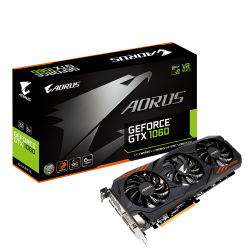 Placa de Video Gigabyte Gtx 1060 Ti 6gb Ddr5 Aorus