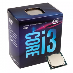 Microprocesador Intel Core i3 8100 Coffee Lake s1151 8va Gen