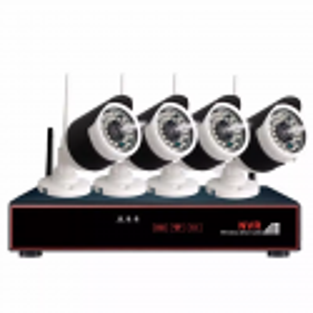 Kit Seguridad Overtech Ov-w660 WiFi 4 Camaras