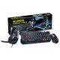 Combo Teclado + Mouse + Auricular Genius Gaming Gx Kmh - 200