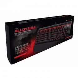 TECLADO MECÁNICO HYPERX ALLOY ELITE INTERRUPT RED SPA GAMER
