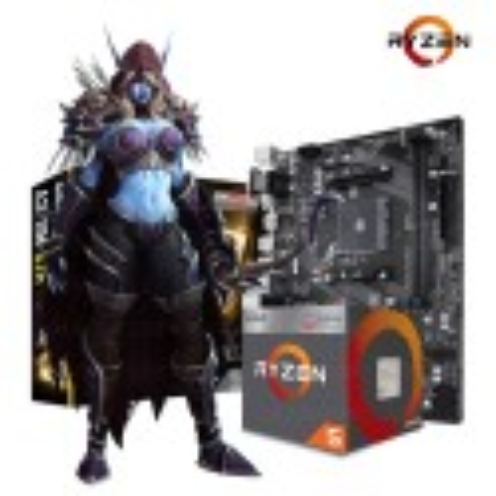 COMBO ACTUALIZACIÓN AMD RYZEN 5 2400G + MOTHER + 8GB DDR4