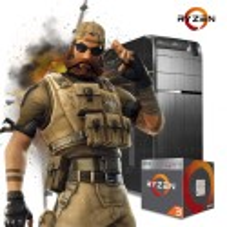PC GAMER AMD RYZEN 3 2200G AM4 SSD 120GB 8GB