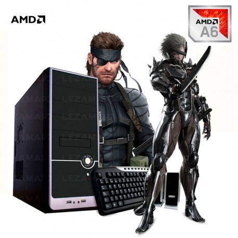 PC AMD A6 9500 SSD 120 4GB DDR4