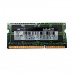MEMORIA NOTEBOOK DDR3 4GB MEMOX 1333MHZ
