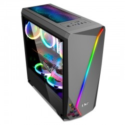 GABINETE LNZ GAMING PC LZ40 SIN FUENTE