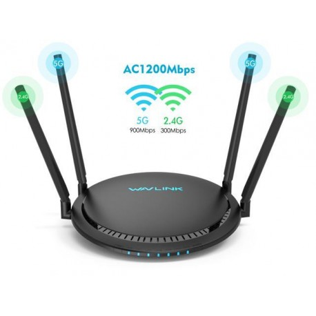 ROUTER WIRELESS WAVLINK WN531G3 AC1200 DUAL BAND
