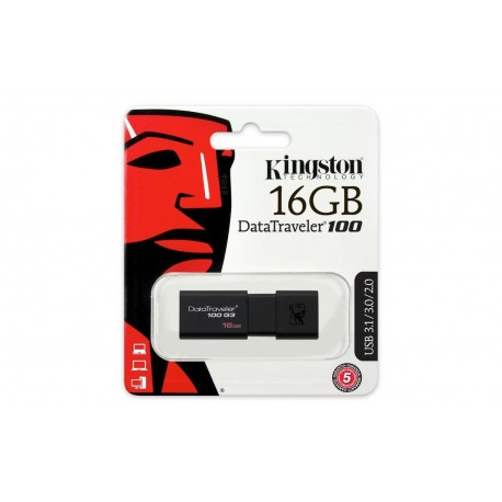 Pendrive 16 Gb Kingston 3.0 Dt100 G4