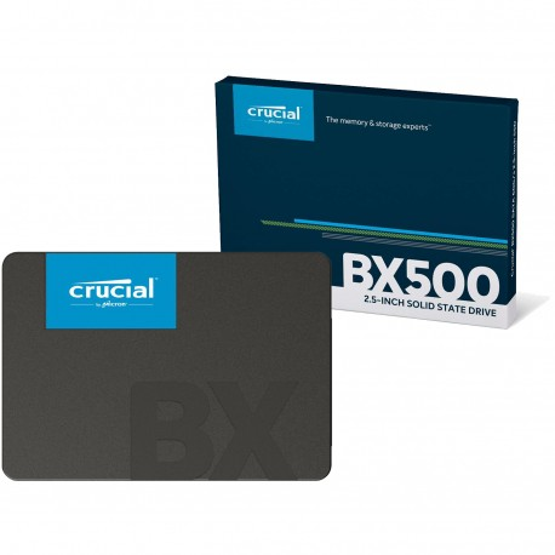 Disco Rígido estado solido ssd 480gb bx500 crucial