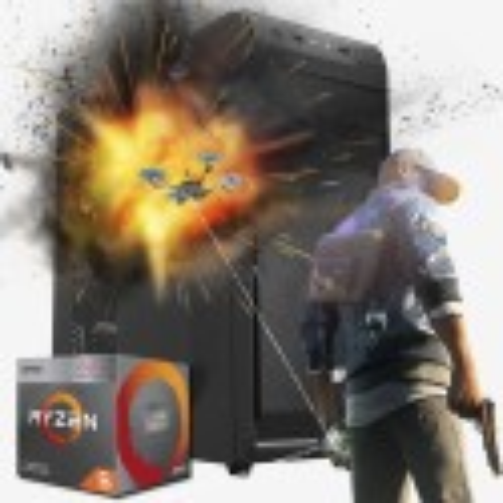 PC GAMER AMD RYZEN 5 3400G AM4 8GB DDR4 SSD 120GB