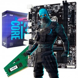 COMBO INTEL I3 8100 8VA GEN + ASUS H310 + 8GB