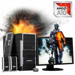 PC Amd A10 7850k Completa con monitor