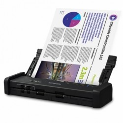 ESCANER EPSON WORKFORCE ES-200D PORTÁTIL PARA DOCUMENTOS