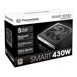 FUENTE 430W THERMALTAKE SMART 80 PLUS WHITE