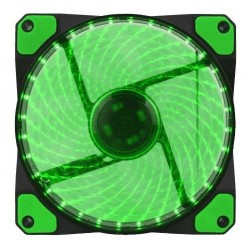 COOLER GAMEMAX P/GAB 120MM GREEN 32 LEDS