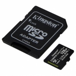 MEMORIA MICRO SD KINGSTON 128GB CLASE 10 100MBS