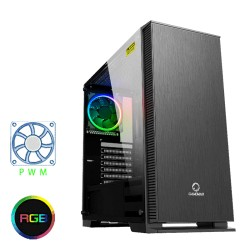 GABINETE  GAMEMAX AURORA W901 FAN RGB * 1